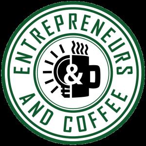 entrepreneurs and coffee logo 2