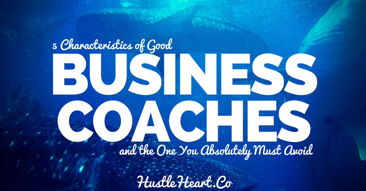 5 characteristics of good business coaches