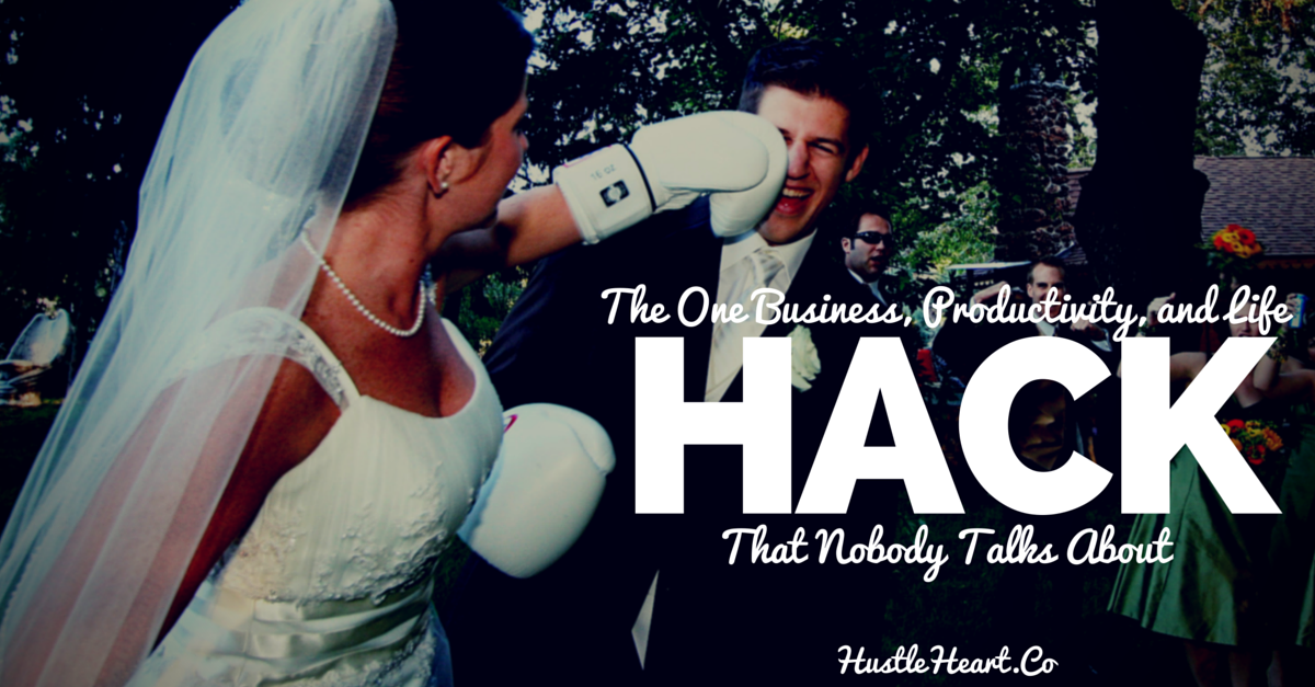 business productivity and life hack that nobody talks about