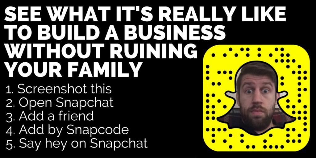 marketing on snapchat