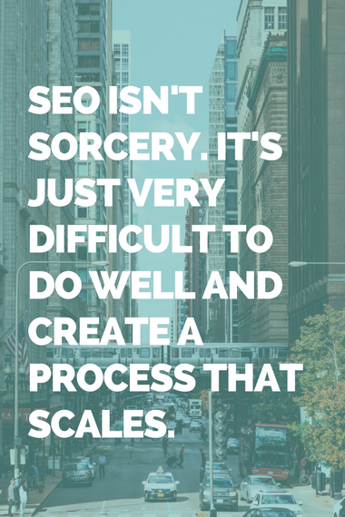 on page seo process